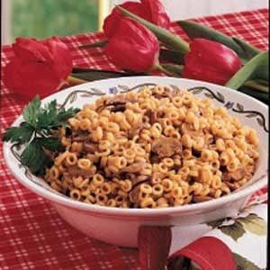 Mushroom Pasta Pilaf