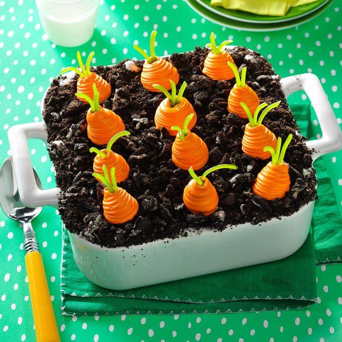 Carrot Garden Ice Cream Dessert