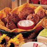 Strawberry Muffins with Cinnamon-Honey Spread