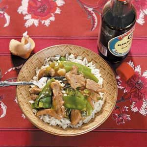Pork 'n' Pea Stir-Fry