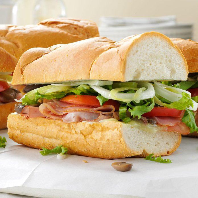 Summer Sub Sandwich