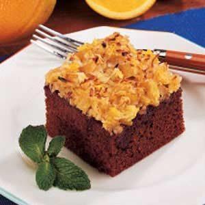 Coconut Gingerbread Cake