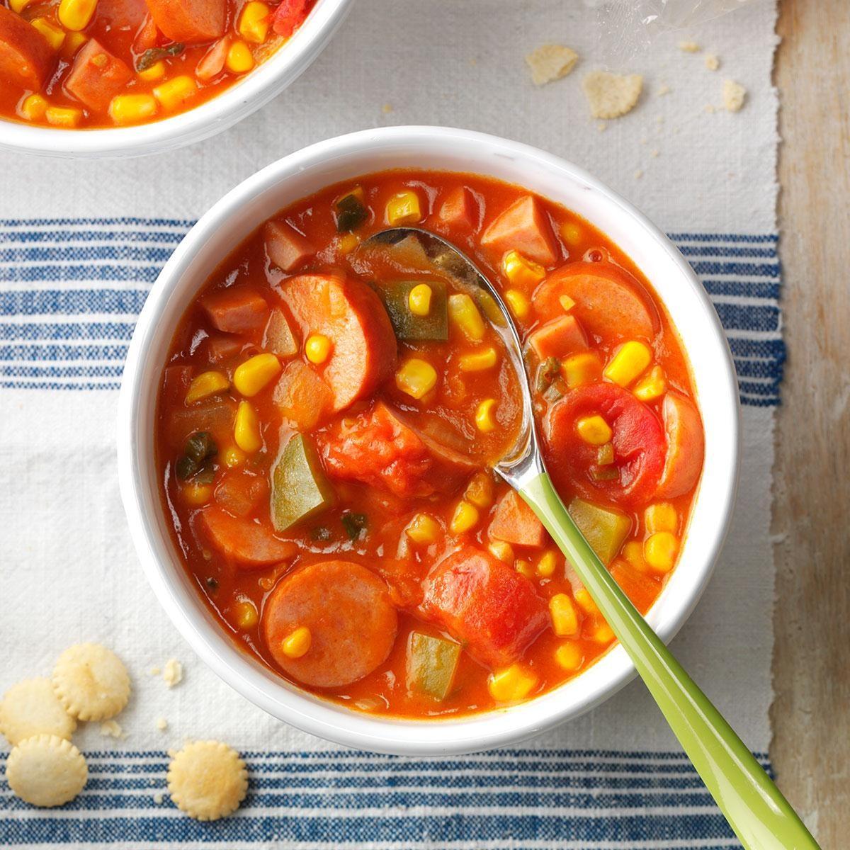 Louisiana: Cajun Corn Soup