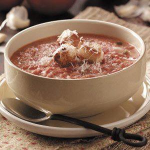 Tomato Garlic Soup