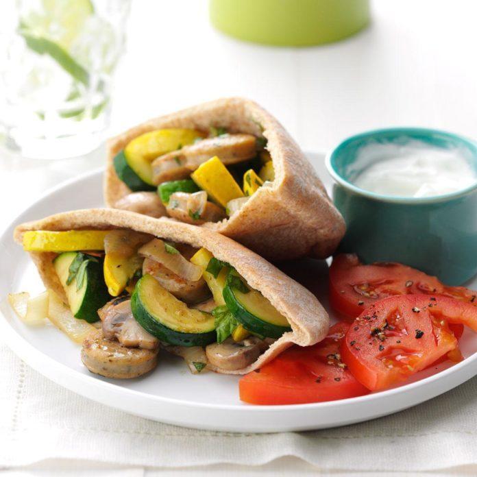 Day 15: Chicken Sausage Pita Pockets