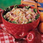 Lemony Chicken Fruit Salad