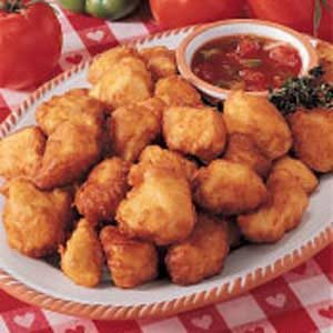 Sweet-Sour Chicken Dippers Recipe | Taste of Home