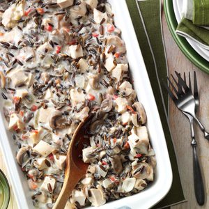 Contest-Winning Chicken Wild Rice Casserole