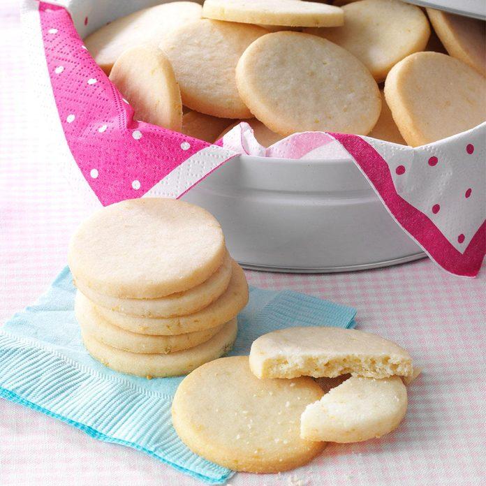 Lemon-Lime Butter Cookies