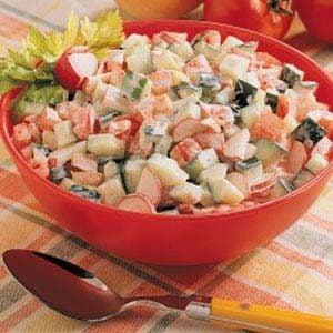 Creamy Summer Vegetable Salad