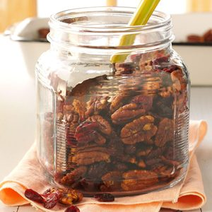 Spicy Pecans N Cranberries