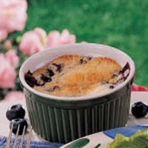 Blueberry Cake Cups