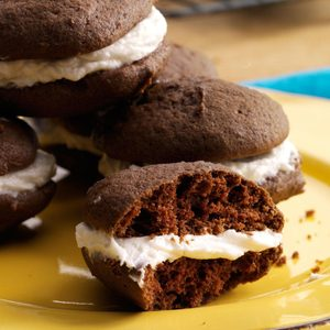 Sam's Chocolate Sandwich Cookies