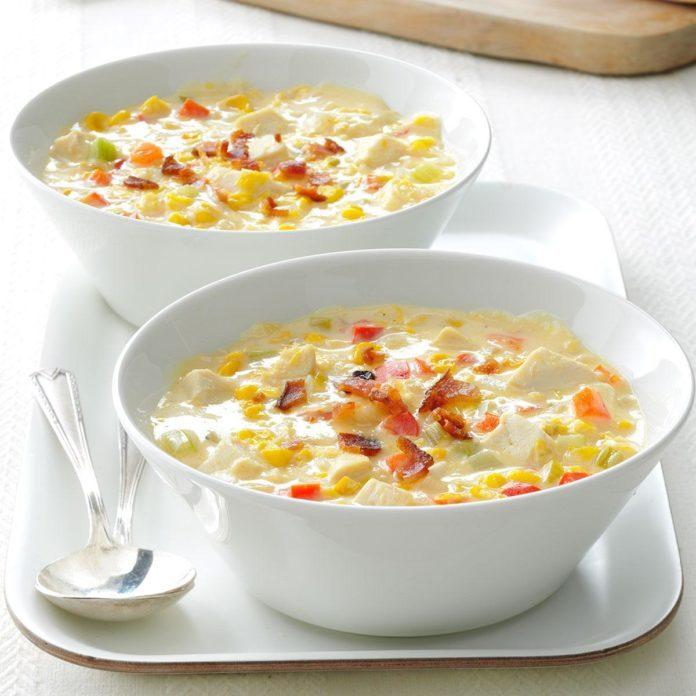 Easy Chicken Corn Chowder