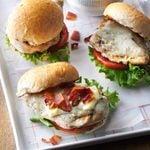 Bacon & Swiss Chicken Sandwiches