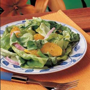 Orange-Onion Lettuce Salad