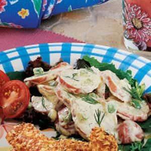 Creamy Dilled Potato Salad