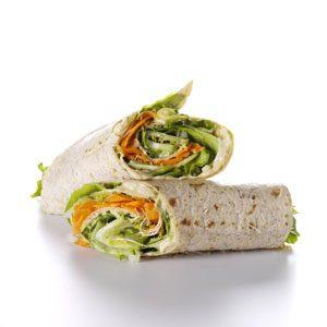 Gemini: Hummus & Veggie Wrap-Up