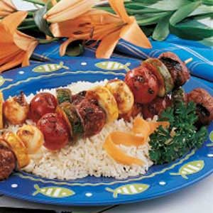 Meatball Shish Kabobs