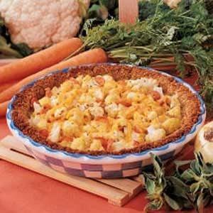 Savory Cauliflower Pie