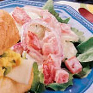 Creamy Tomato Salad