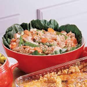 Teriyaki Barley Salad