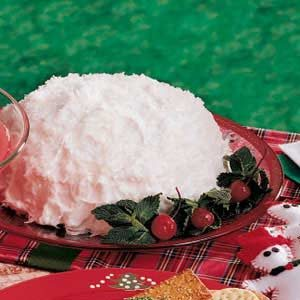 Giant Snowball Cake