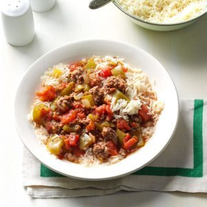 One-Pot Beef & Pepper Stew