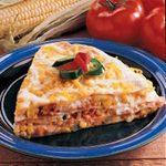 Egg and Corn Quesadilla