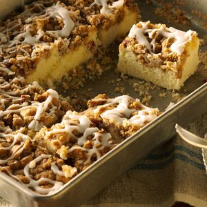 Caramel Nut Breakfast Cake