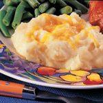 Cheesy Potato Puff
