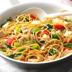Chicken Stir-Fry with Noodles