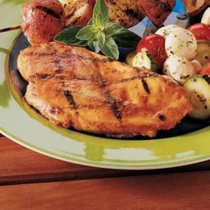 Curry Grilled Chicken