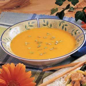 Apricot Squash Soup