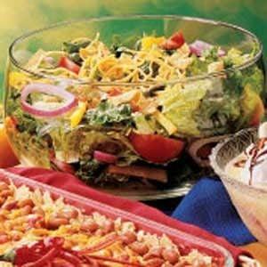 Salsa Tossed Salad