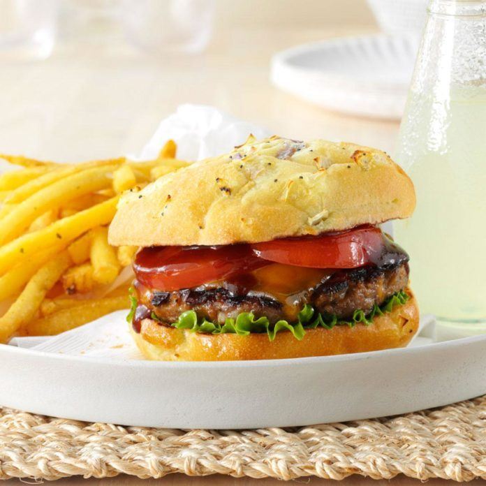 Inspired by: Whiskey River® BBQ Burger