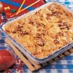 Cheesy Potato Beef Bake