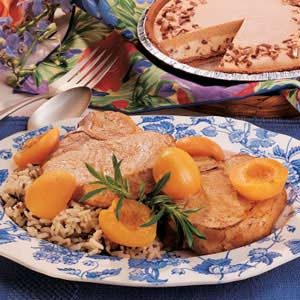 Quick Apricot Pork Chops