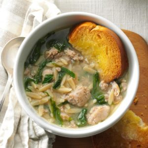 Barbara's Italian Wedding Soup