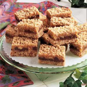 Caramel-Chocolate Oat Squares