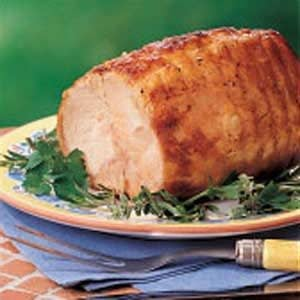 Mustard-Glazed Pork Roast