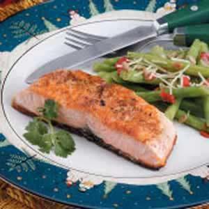 Coriander Salmon