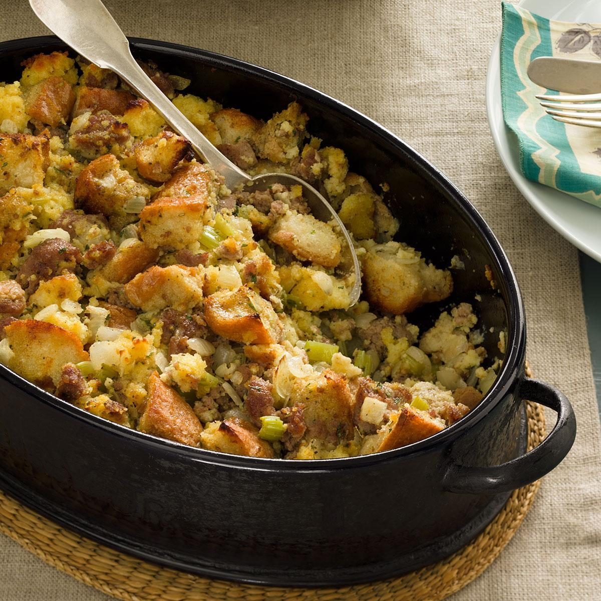 Sausage and Cornbread Dressing