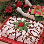 Make-Ahead Holiday Cake