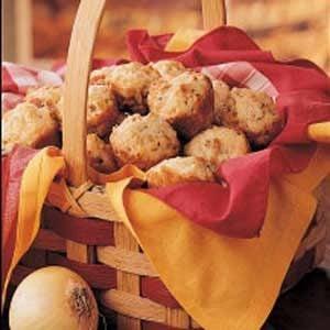 Sweet Onion Muffins