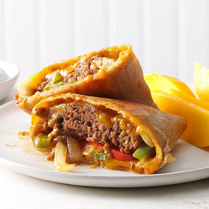 Inspired by: Quesadilla Burger