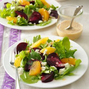 Orange and Beet Salad