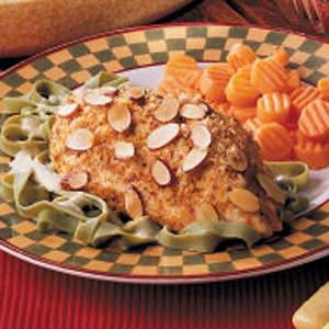Baked Almond Chicken Breasts