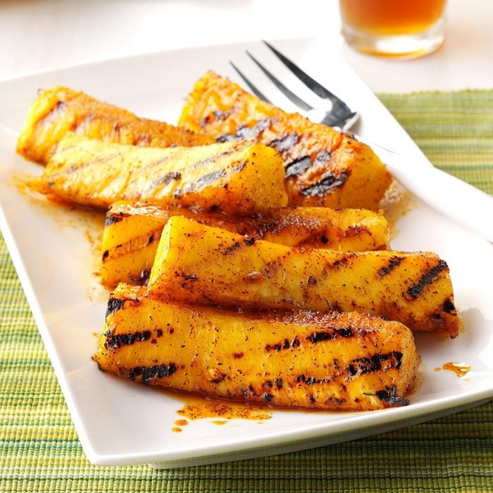 Chili-Lime Grilled Pineapple