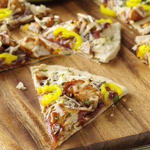 BBQ Chicken Pizzas